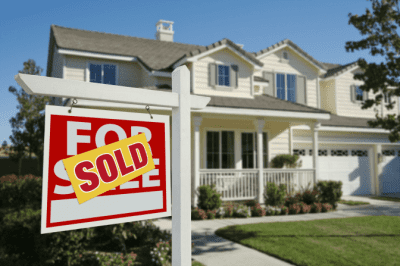 Client is Moving - How Do I Raise My Prices, For Sale Sign on House Sold