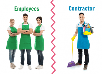 Employees or Contractors, Cleaning Employees and Contractor