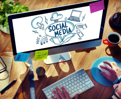 Employees or Contractors, Social Media on Computer