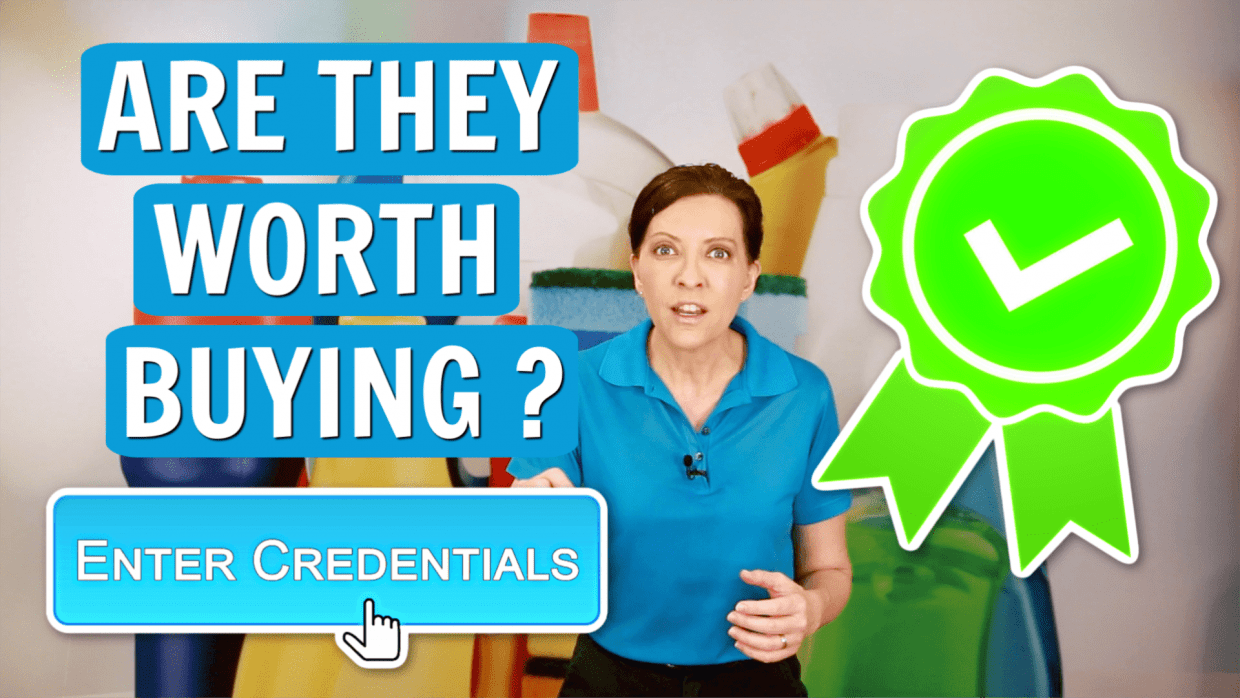 Are Credentials Worth Paying For, Angela Brown, Savvy Cleaner