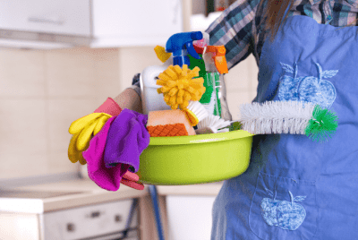 What if You Hate Your Cleaning Job, Cleaning Supplies