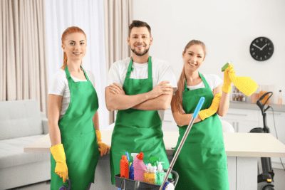 What if You Hate Your Cleaning Job, Three House Cleaners