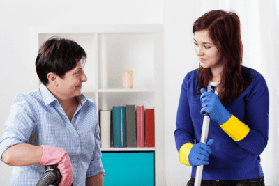What if You Hate Your Cleaning Job, Two House Cleaning
