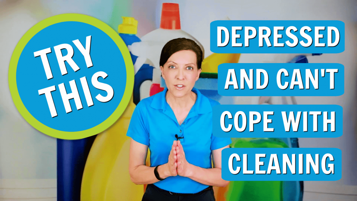 Depressed and Cant Cope with Cleaning, Angela Brown, Savvy Cleaner