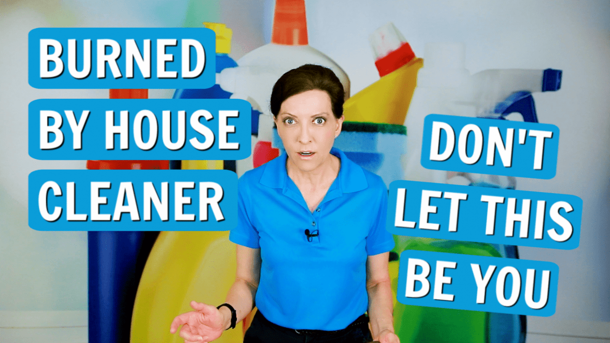 Homeowner Gets Burned by House Cleaner, Angela Brown, Savvy Cleaner