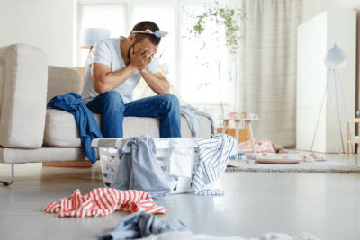 It Will Never Be Easier Than Right Now, Man Frustrated Over Messy Home