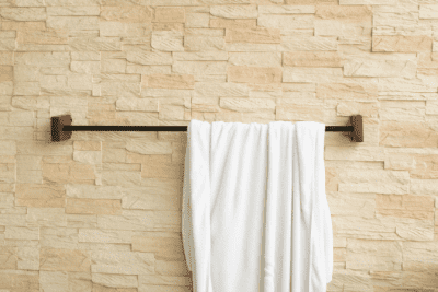 It Will Never Be Easier Than Right Now, Towel Hung on Bar