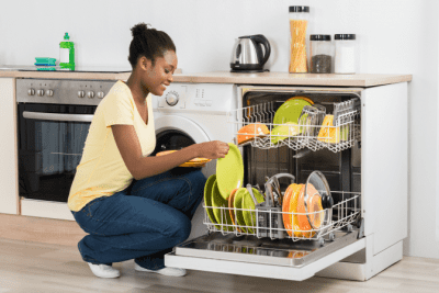 It Will Never Be Easier Than Right Now, Woman Loading Dishwasher