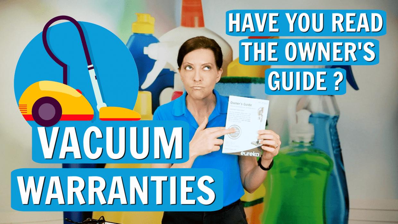 Vacuum Warranties, Angela Brown, Savvy Cleaner