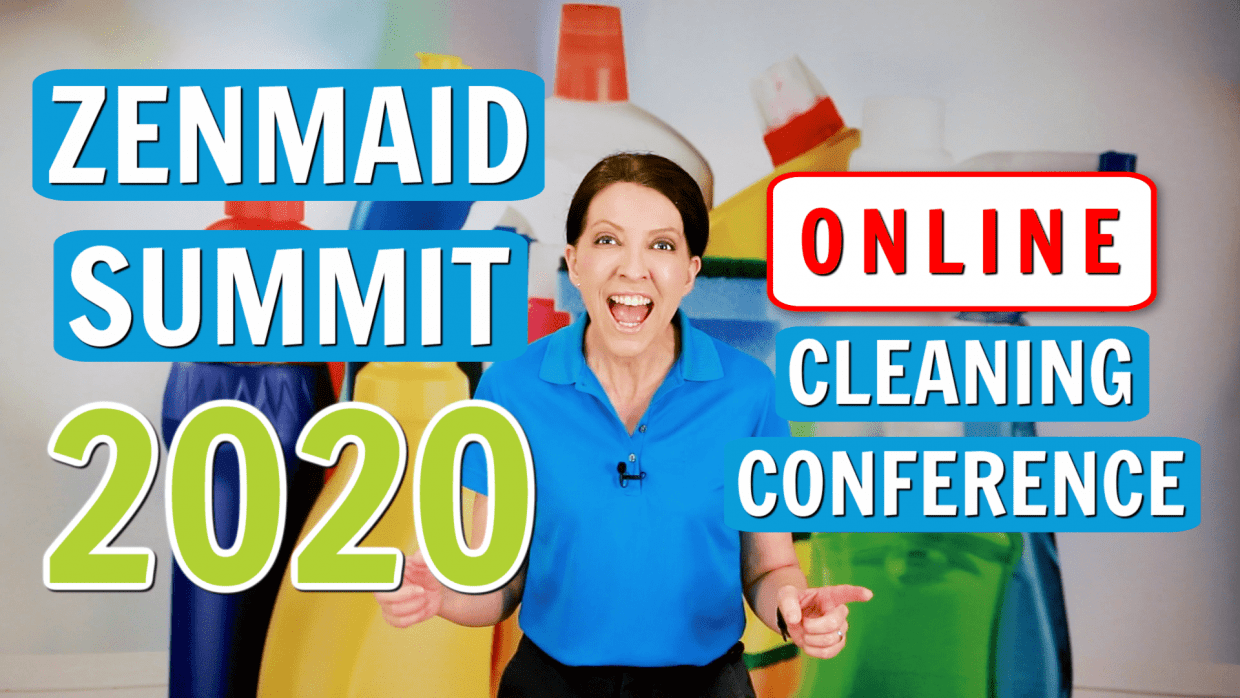 ZenMaid Summit 2020's Biggest Cleaning Conference, Angela Brown, Savvy Cleaner