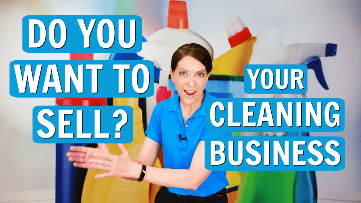 Thinking About Selling Your Cleaning Business, Angela Brown, Savvy Cleaner