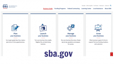 Start a Cleaning Company in Another Country, SBA USA Screenshot2
