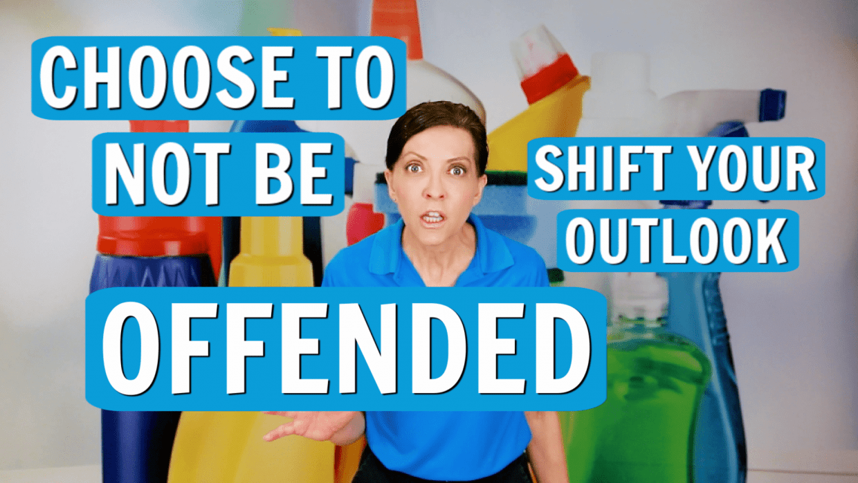 Choose To Not Be Offended, Angela Brown, Savvy Cleaner