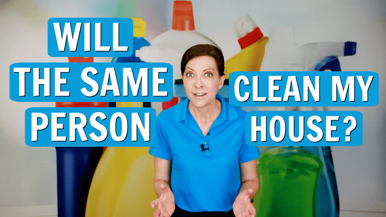 Will the Same Person Be Cleaning My House, Angela Brown, Savvy Cleaner