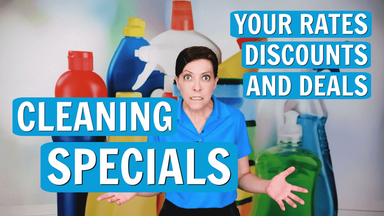 Are You Running Any Specials, Angela Brown, Savvy Cleaner