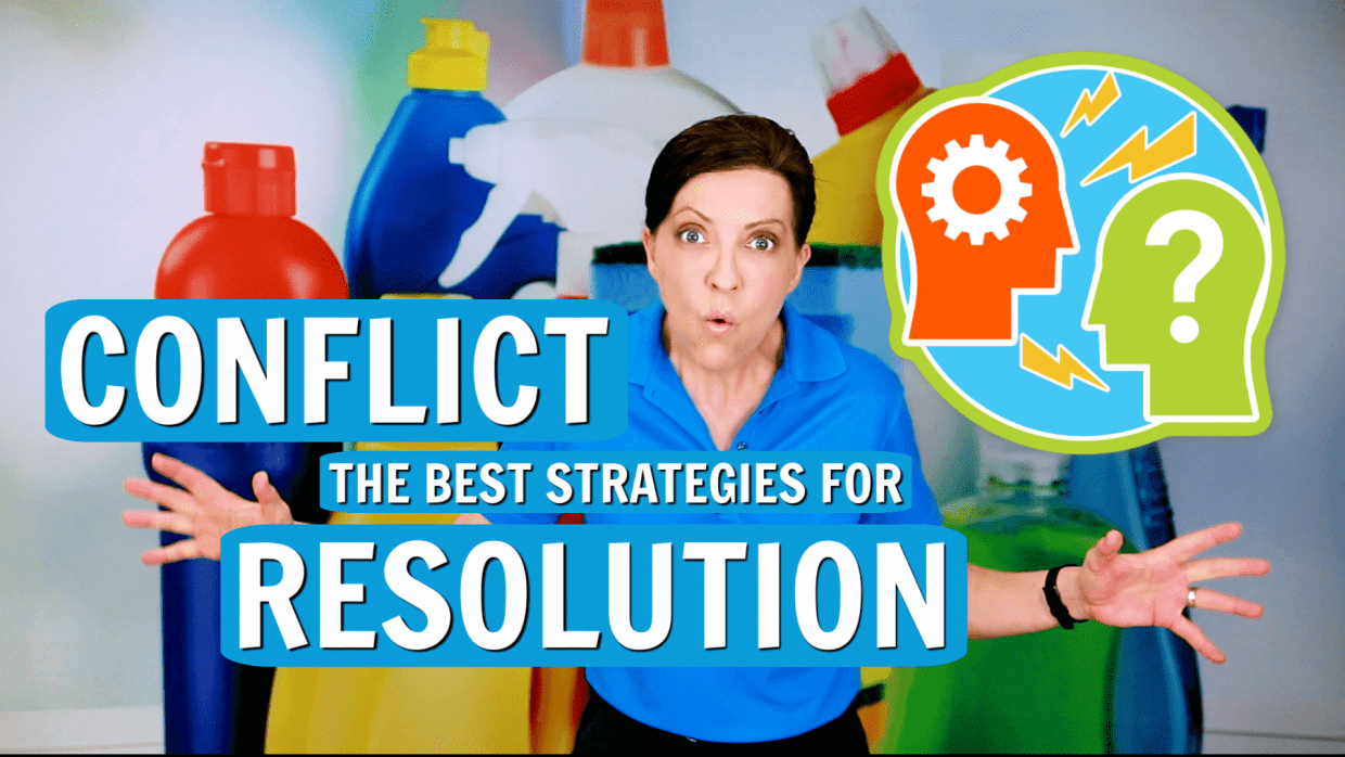 Conflict Resolution for House Cleaners, Angela Brown, Savvy Cleaner