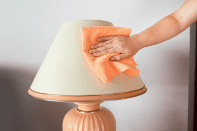 Cleaning Cloths - Who Provides Them, Cleaning Lamp Shade with Microfiber Cloth