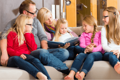 Price Increase Due to Age, Parents Reading to Their Children