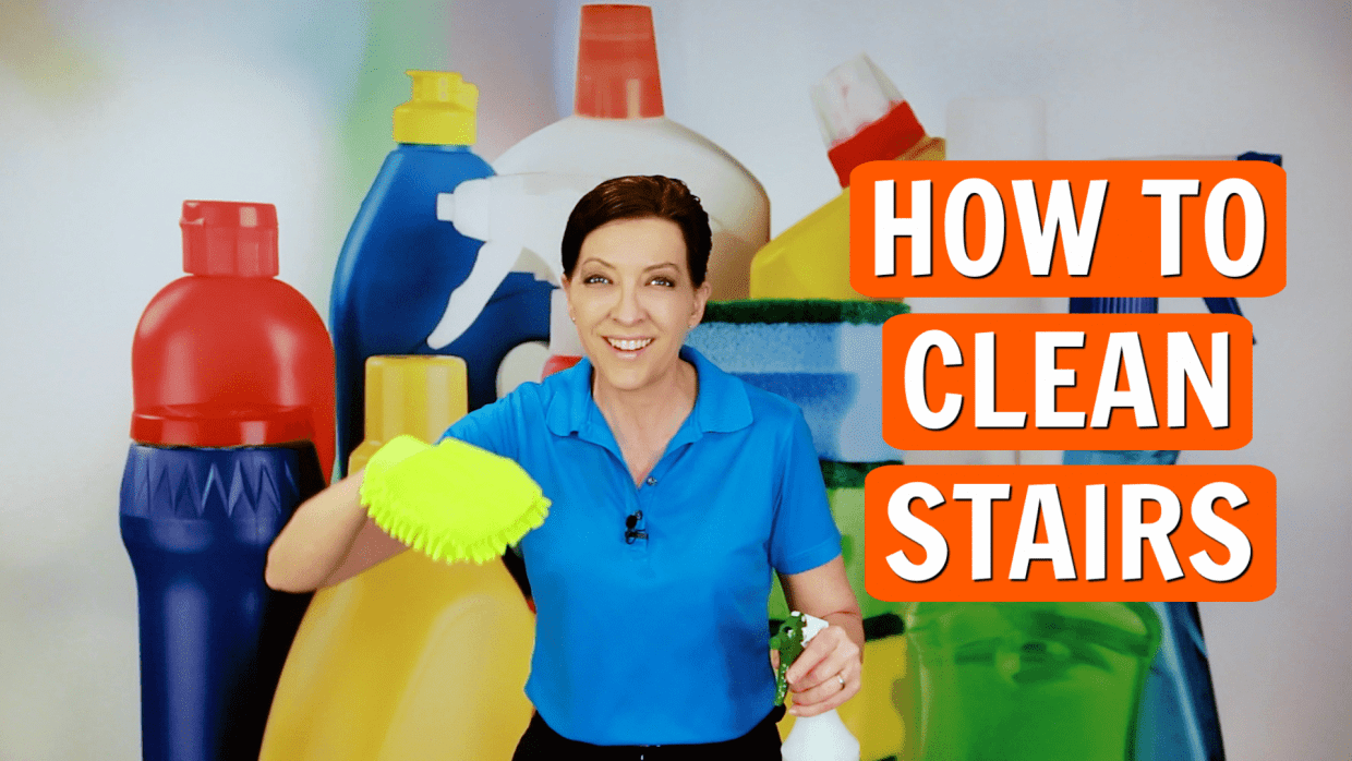How to Clean Stairs, Angela Brown, Savvy Cleaner