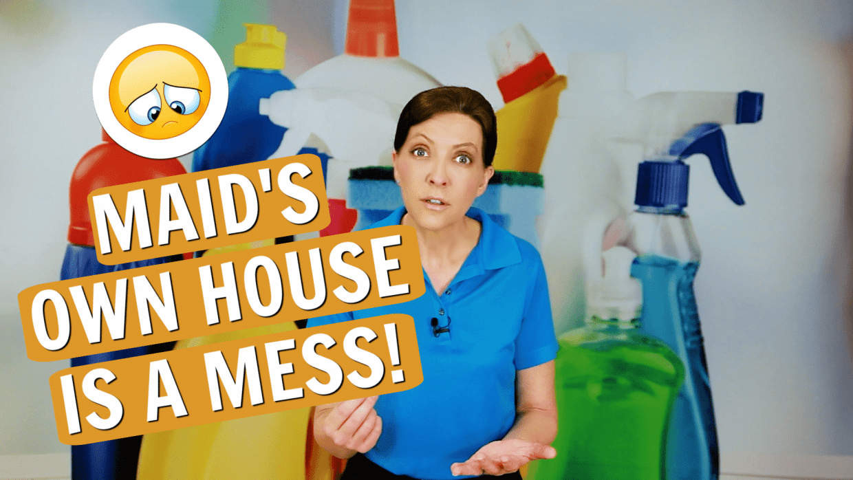Feeling Guilty for Not Cleaning House, Angela Brown, Savvy Cleaner