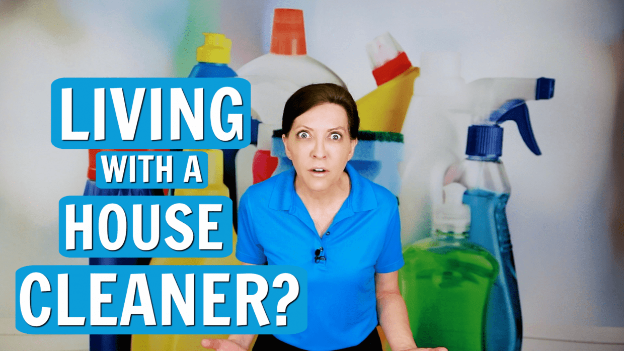 What is It Like Living With a House Cleaner, Angela Brown, Savvy Cleaner