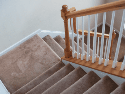 How to Clean Stairs, Carpet on Stairs
