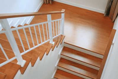 How to Clean Stairs, Wood Stairs