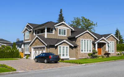 How to Get Cleaning Clients Online, Nice House and Car Parked