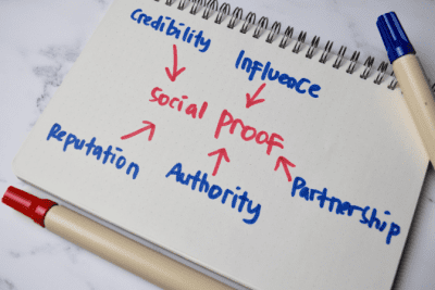 How to Get Cleaning Clients Online, Social Proof