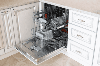Making Sure Things are Just So, Dishwasher