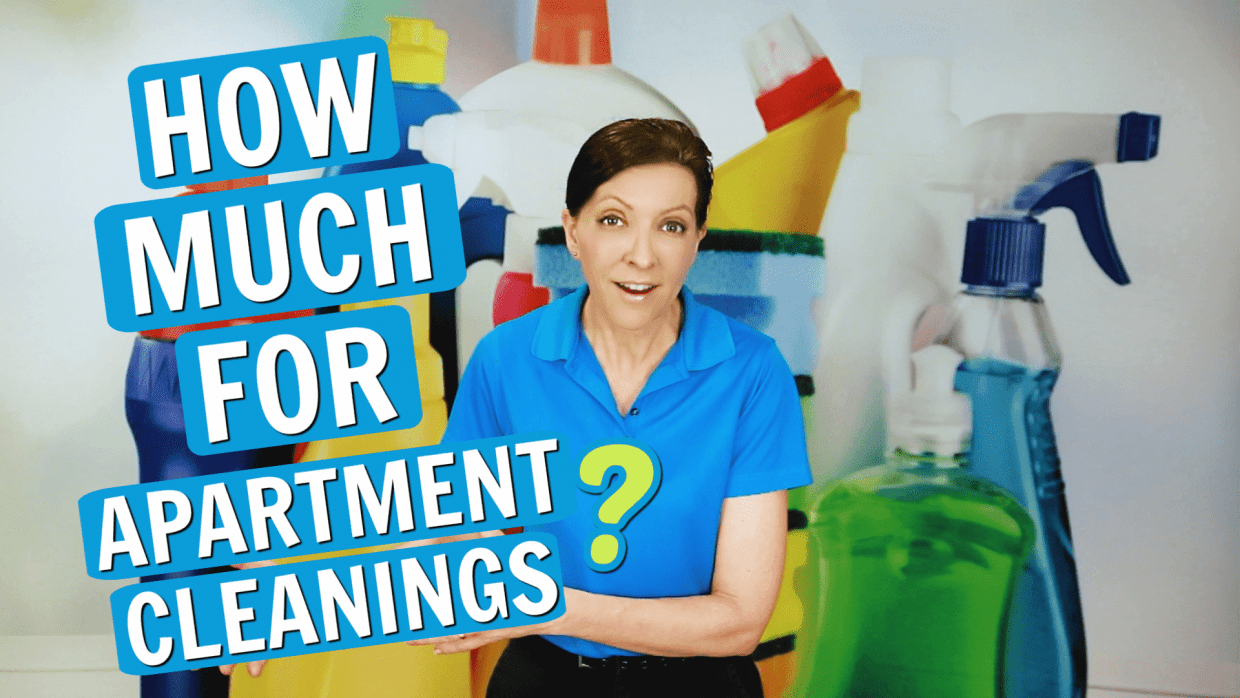 How Much to Clean an Apartment, Angela Brown, Savvy Cleaner