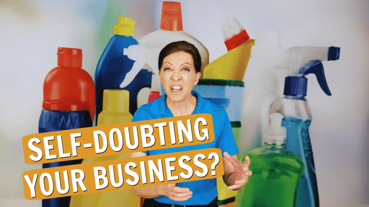 Self Doubt As a Business Owner, Angela Brown, Savvy Cleaner