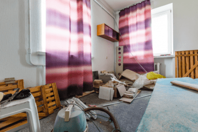 How Much to Clean an Apartment, Messy Apartment