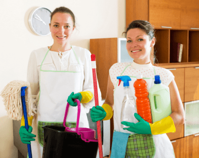 Should You Tell Employees You're New, Two House Cleaners