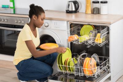The Secret Behind Checklists, Girl Loading Dishwasher