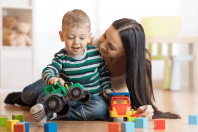 The Secret Behind Checklists, Woman Playing with Little Boy