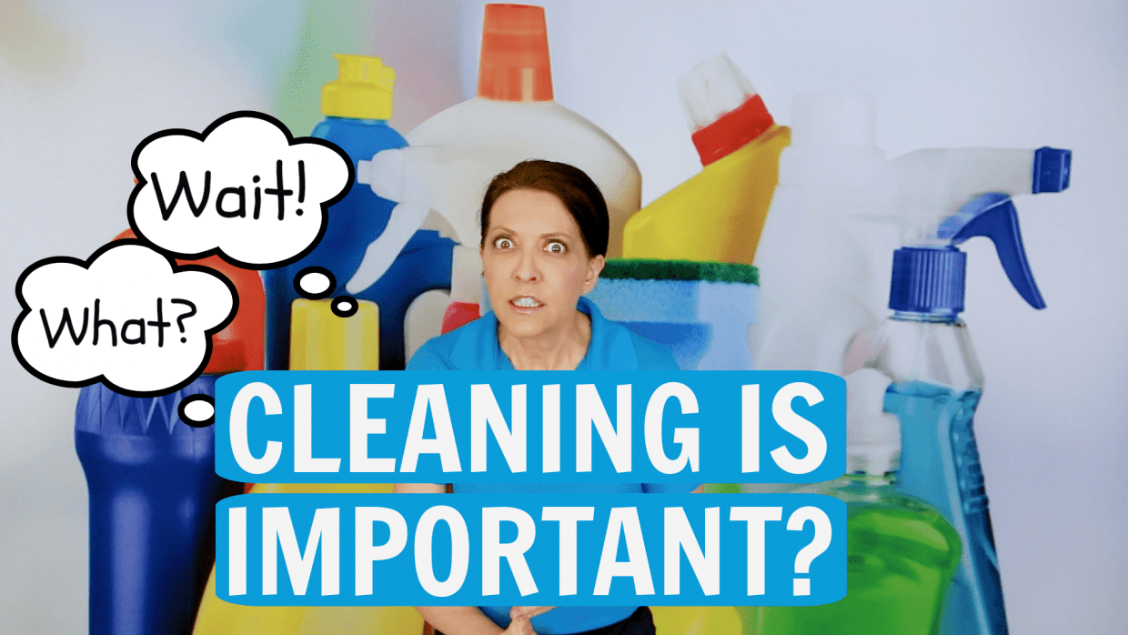 How Important is Cleaning Angela Brown Savvy Cleaner