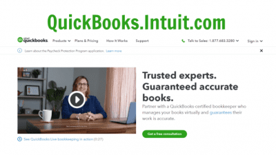 Are You Winging It With Your Money, Quickbooks Screenshot2