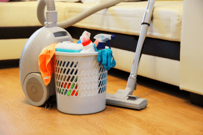 Are You Winging It With Your Money, Vacuum and Cleaning Supplies