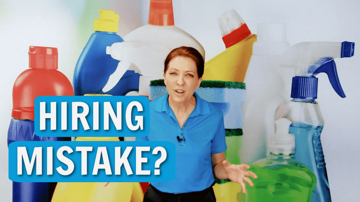 Hiring Mistake Angela Brown Ask a House Cleaner