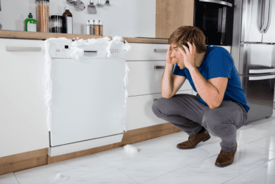 Bad Stuff Will Happen To You, Dishwasher Leaking