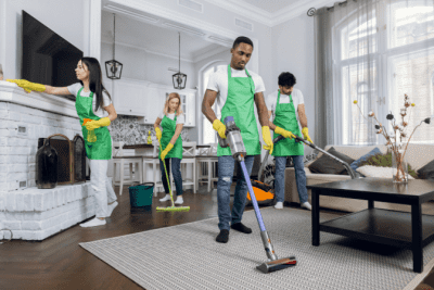Bad Stuff Will Happen To You, House Cleaning Team
