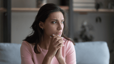 Bad Stuff Will Happen To You, Worried Woman