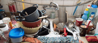 Hoarding Overhaul, Dirty Dishes