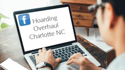 Hoarding Overhaul, Man on Computer Hoarding Overhaul Charlotte NC