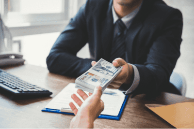 Venture Capital Is It For You, Handing Over Cash