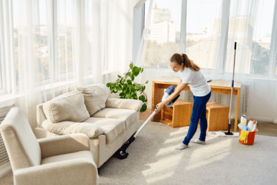 Venture Capital Is It For You, House Cleaner Vacuuming