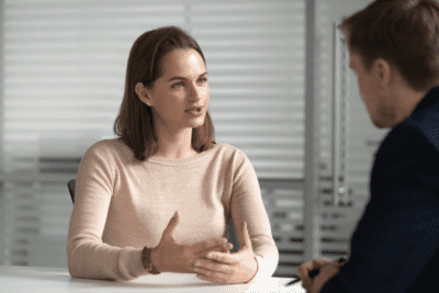 Venture Capital Is It For You, Serious Woman Talking