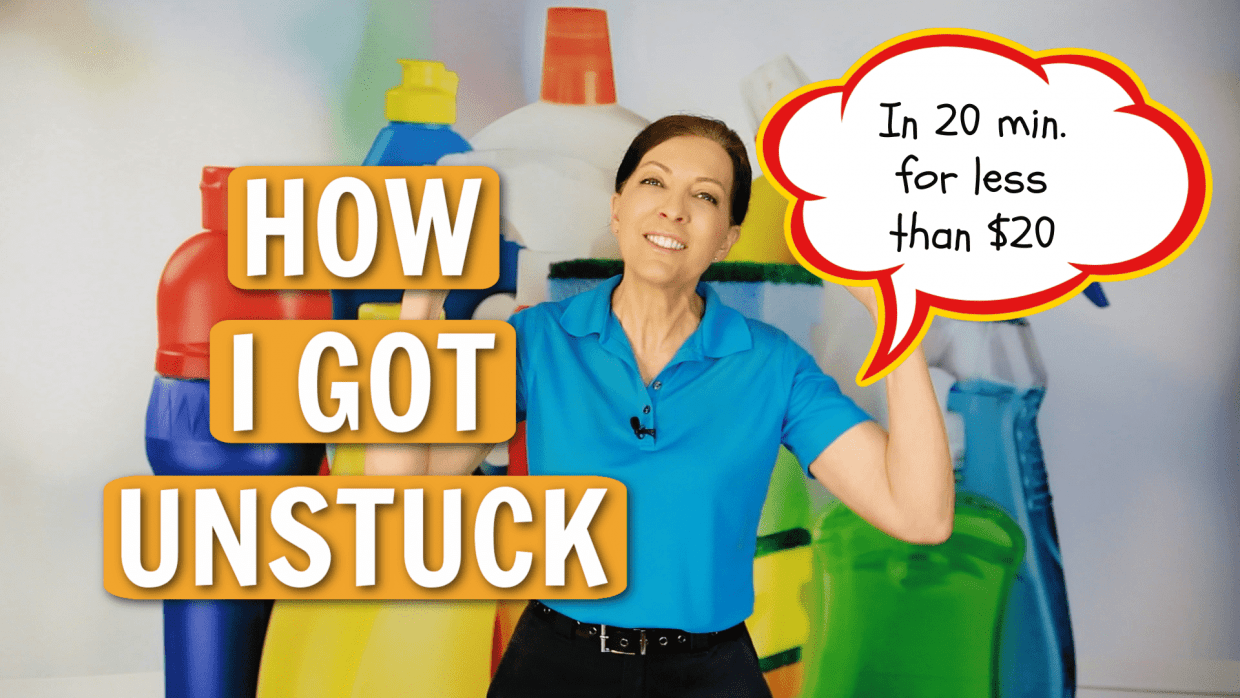 How I Got Unstuck Angela Brown Ask a House Cleaner