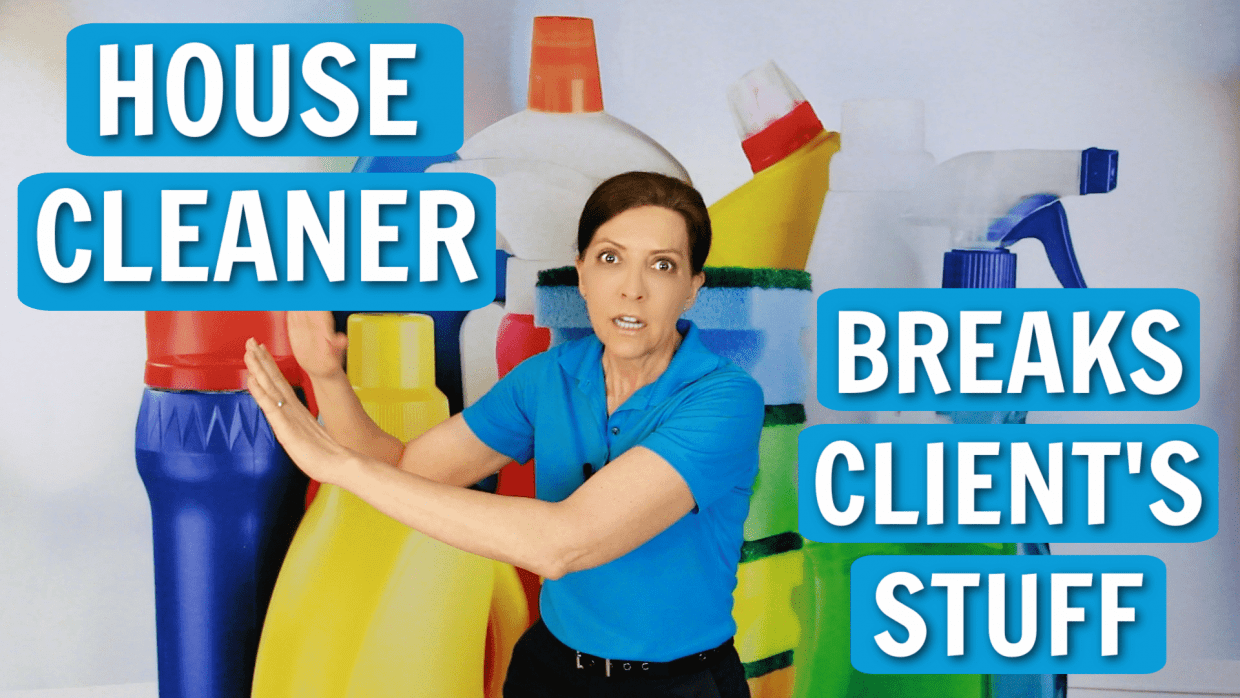 House Cleaner Breaks Client's Stuff Angela Brown Ask a House Cleaner